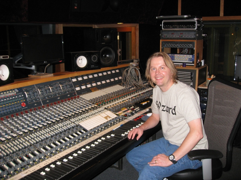 Paul Bonrud at London Bridge Studio, Seattle